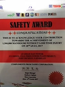 6 Alpha wins Client Safety Award