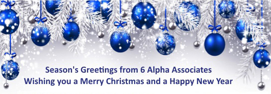 Happy Christmas from 6 Alpha