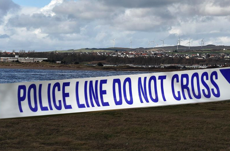 Bomb squad carry out controlled explosion after military shell is found on Ayrshire school site