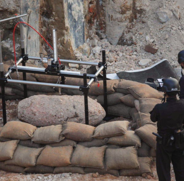 Wartime bomb unearthed in Hong Kong defused in 12-hour police operation
