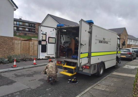 Bomb squad called to Dartford after wartime device discovered