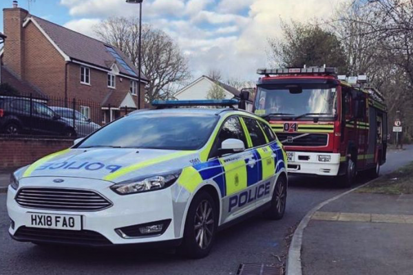 Bomb scare in Fleet after unexploded 'grenade' is discovered in woodlands
