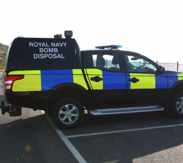 Bomb disposal experts called in following Yaverland discovery
