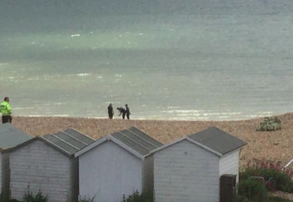 "Controlled explosion carried out on Lancing seafront: ""There was a massive blast"""