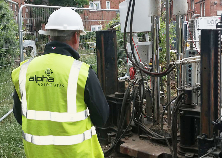 On-site drilling