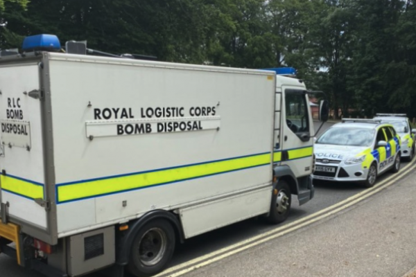 EOD called to Suffolk college after grenade discovered