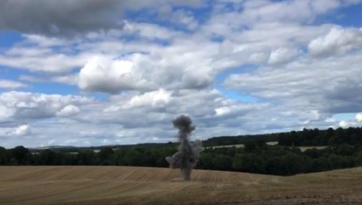 Unexploded WWII landmine found on farmland in Andover