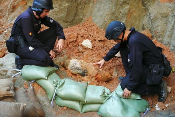2,000 people evacuated after WWII UXO found at Hong Kong construction site