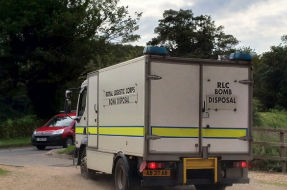 EOD team called to Cromer Golf Club after UXO was discovered on the course