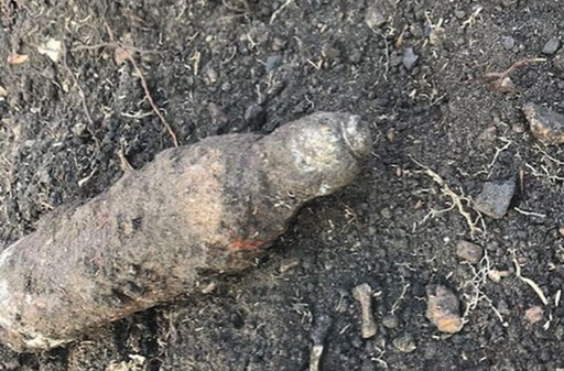 UXO discovered in Hemingford Abbots, Cambs.