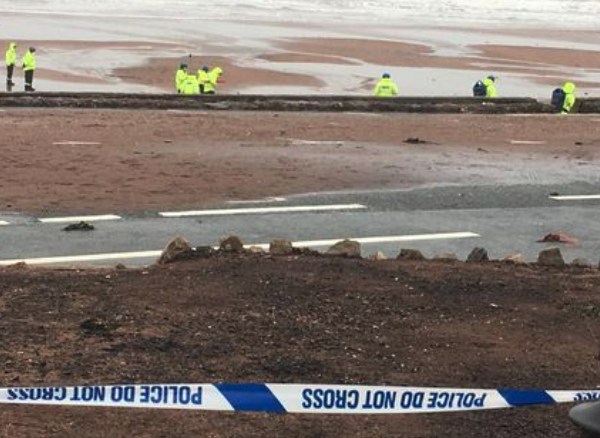 Paignton seafront closed after WW2 unexploded ordnance (UXO) discovered on the beach