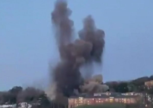 Exeter WW2 unexploded ordnance (UXO) detonated after homes evacuated