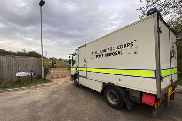 UXO discovered twice in Canterbury within one afternoon