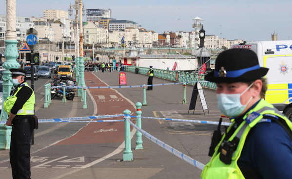 Hundreds evacuated from Brighton beach after UXO found on seafront