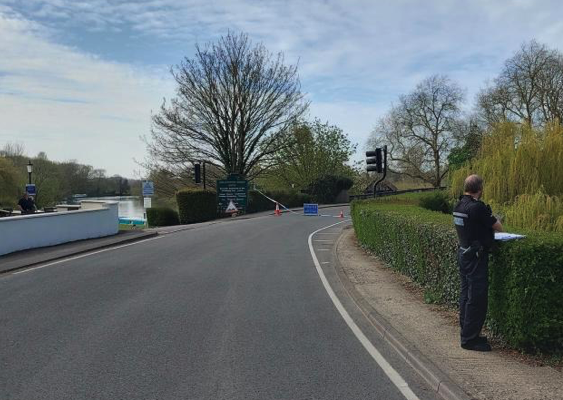 Bridge closed after WWII UXO found in the Thames
