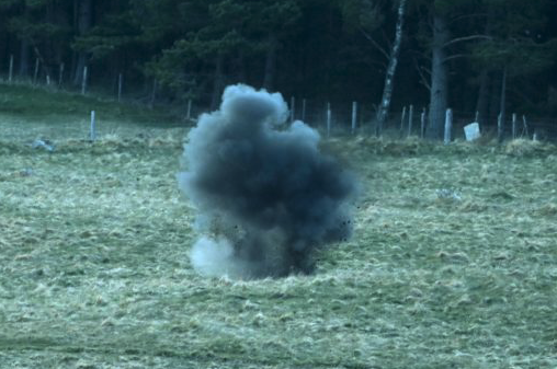 EOD team called to Grantown-on-Spey after UXO found