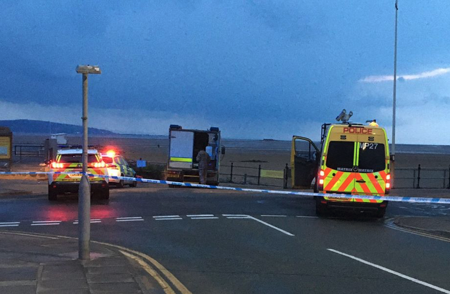 West Kirby beach cordoned off after suspected unexploded ordnance (UXO) found