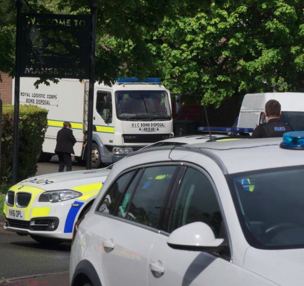 Southampton homes evacuated after UXO found in garden