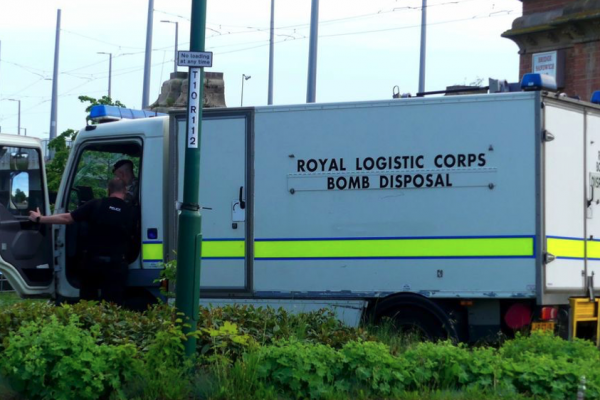 Toll Bridge closed after UXO fished out of River Trent