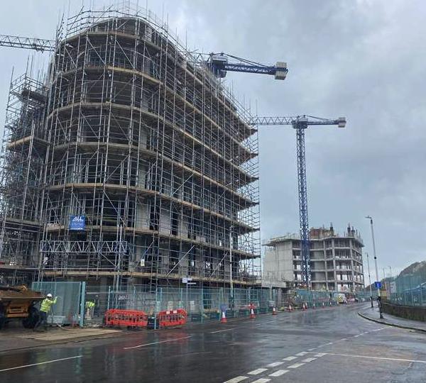 UXO found at Marine Crescent building site in Folkestone